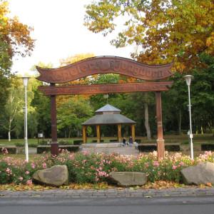 Herbstansicht Musikpavillon